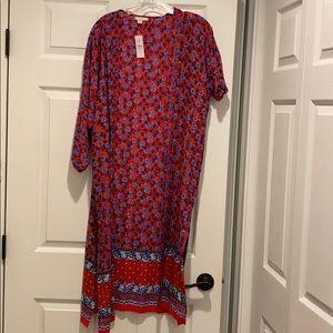 Loft long split sides kimono NWT online exclusive